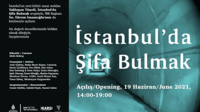 metro tunnels in istanbul open to art