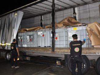 カプクレで大量の医薬品原料が押収された