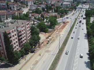 クルチェシュメの路面電車の工事が加速されました