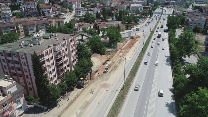 The works on the Kurucesme tram line were accelerated