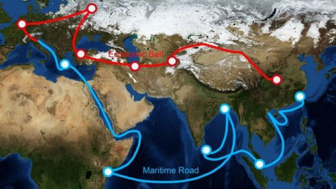investment in belt road countries increased per cent per month