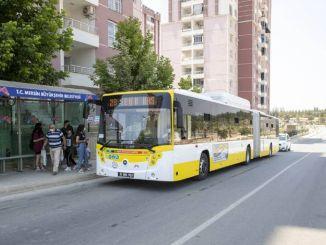 Мерсин Буюкшехир открываются новые автобусные линии, что облегчает транспортировку