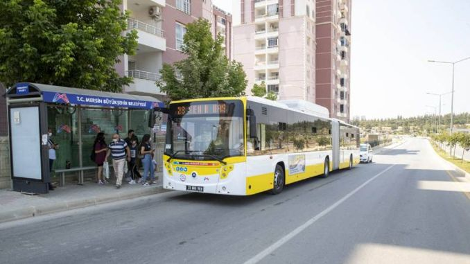 mersin buyuksehir new bus lines are opening, relieving transportation