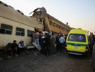 two train crashers injured in egypt