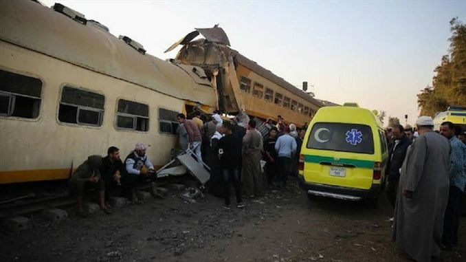dva sudarca vlakova ozlijeđena u Egiptu