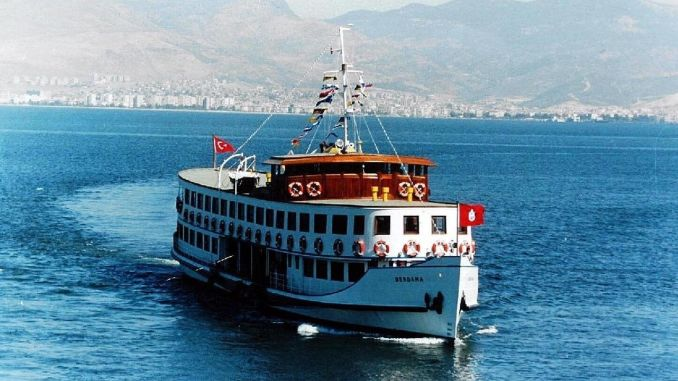 nostalgic bergama ferry is ready for gulf tours