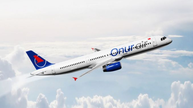 All flights of Onur Air were put into execution and their flights were stopped.