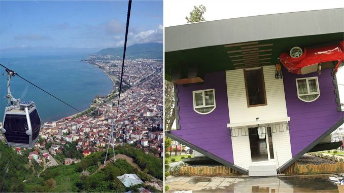Ordu cable car and reverse house new clock application started