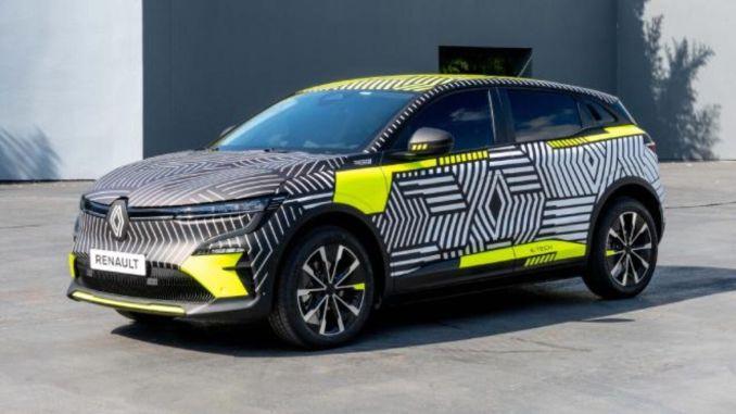雷诺 megane e tech 电动车型将于今年夏天上路