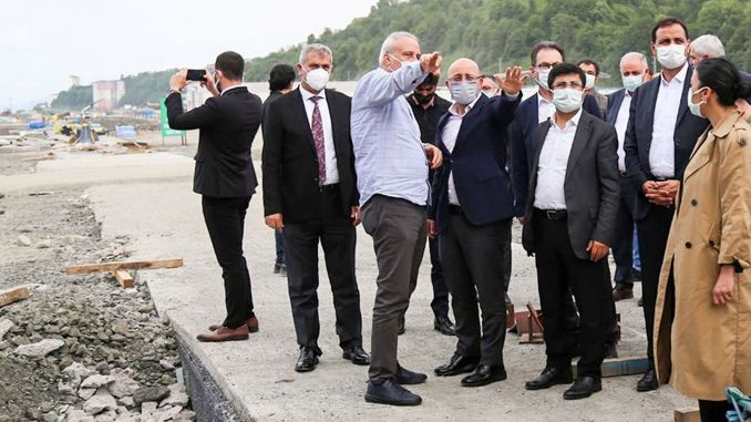rize artvin airport an exemplary project for the aviation industry