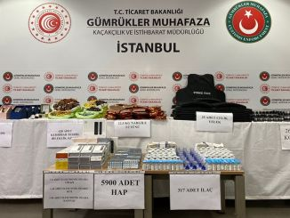 Million TL worth of smuggled product was seized at Sabiha Gökçen Airport