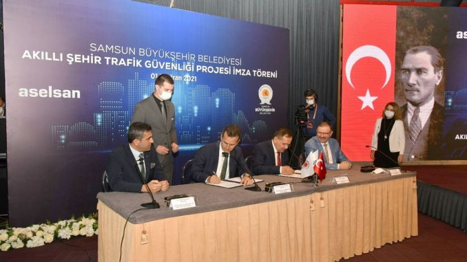 samsun smart city traffic safety project comes to life