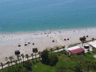 Sarısu Women's Beach åbner sine døre mandag juni