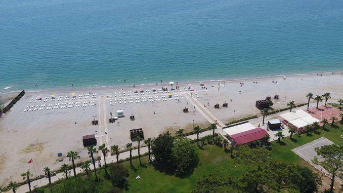 يفتح شاطئ Sarısu Women's Beach أبوابه يوم الاثنين ، يونيو