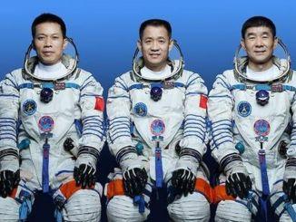 Nama tiga astronot yang akan pergi ke luar angkasa bersama shenzhou