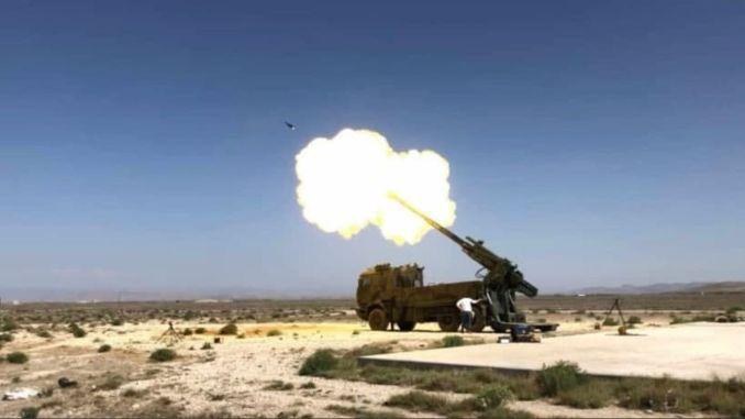 أكمل نظام obus المثبت على شاحنة على شكل T-yavuz اختبارات ميدانية واختبارات حريق