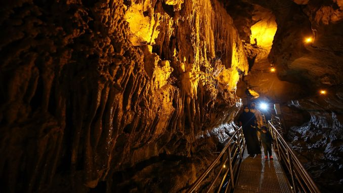 The hidden paradise cal cave underground in Trabzon awaits its visitors