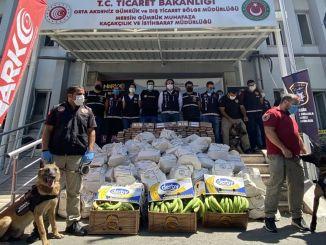A maior operação de drogas da história na alfândega turca