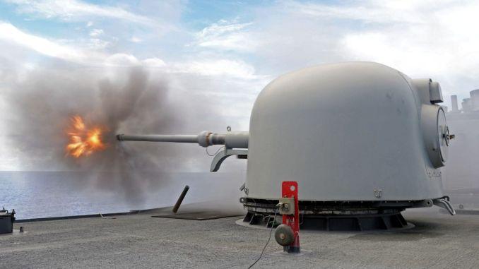 Turkey also supplied mk mm naval guns from australia