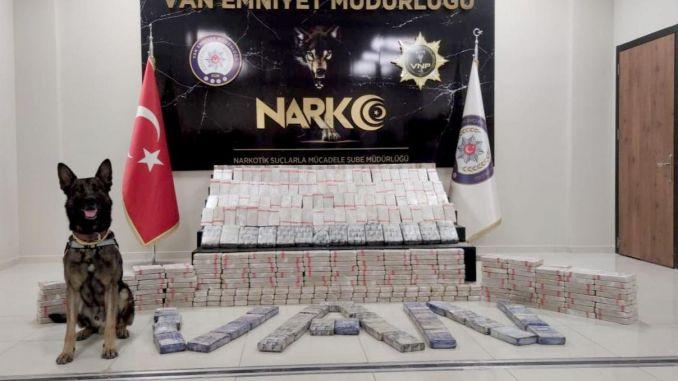 kilo of drugs seized in van