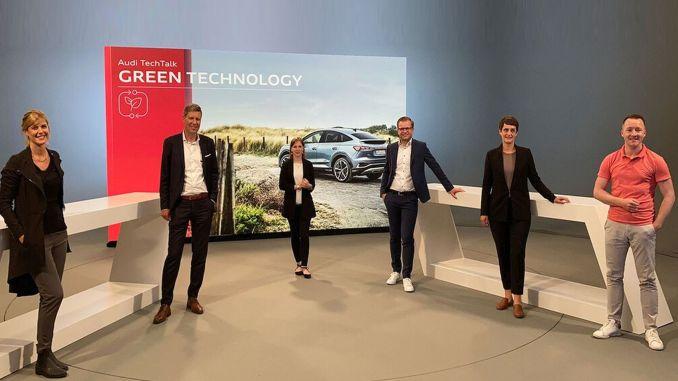 grüne technologie audi umweltprojekte beschleunigen sich