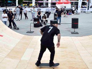 Hundredvis af skateboardentusiaster mødtes på spx skate fest