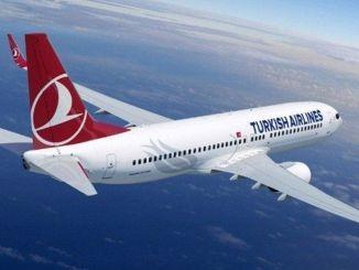 Сгорел двигатель самолета, принадлежащего компании THY, следовавшего из Стамбула в Анкару.