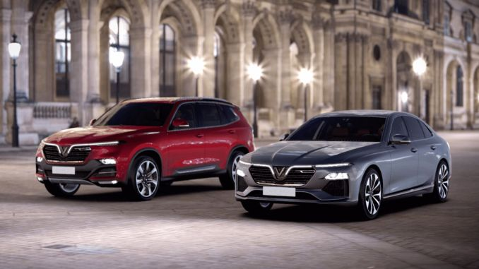 Vietnam's First Domestic Car VinFast Starts Sales In North America And Europe