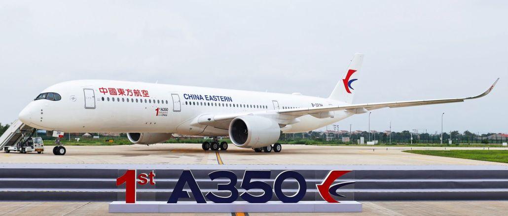 airbus entregó su primer avión en china