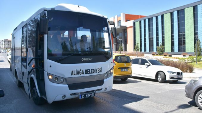 free transportation from aliaga municipality during the holiday