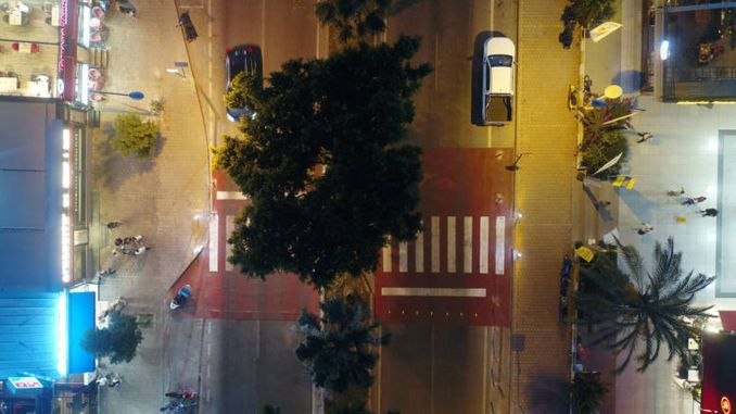 проект за пешеходен преход в Анталия със сензори
