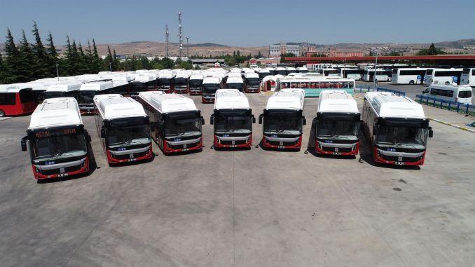 Balıkesir Buyuksehir strengthened the vehicle fleet