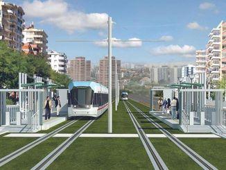 كما سيتم تشغيل نظام السكك الحديدية الخفيفة في ديار بكر