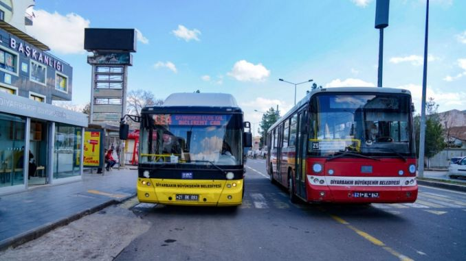 Public transportation from Diyarbakir is free of charge.