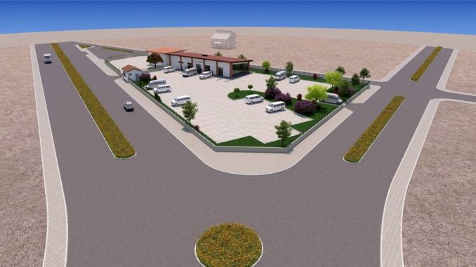 A bus station will be built in the hani district of Diyarbakir