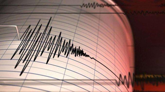 aufeinanderfolgende Erdbeben in der Ägäis