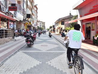 Đường phố Guzelyali thoải mái