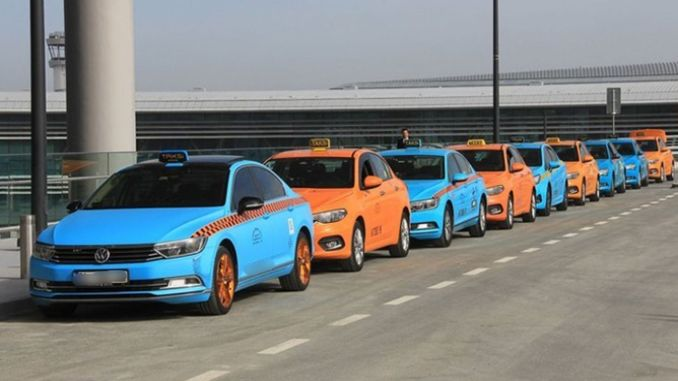 integration agreement with airport taxi drivers