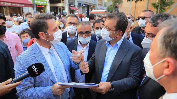 We will make imamoglu istiklal street an area with identity