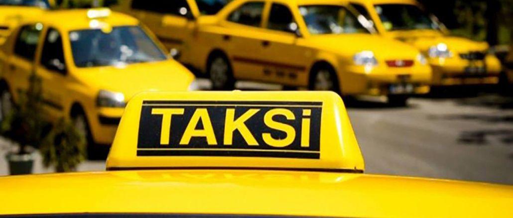 Se han suspendido los documentos de uso de la ruta del taxi en el aeropuerto de estambul