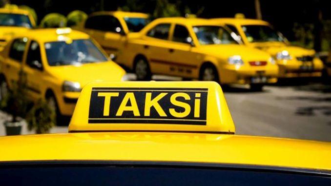 Die Streckennutzungsdokumente des Taxis am Flughafen Istanbul wurden ausgesetzt