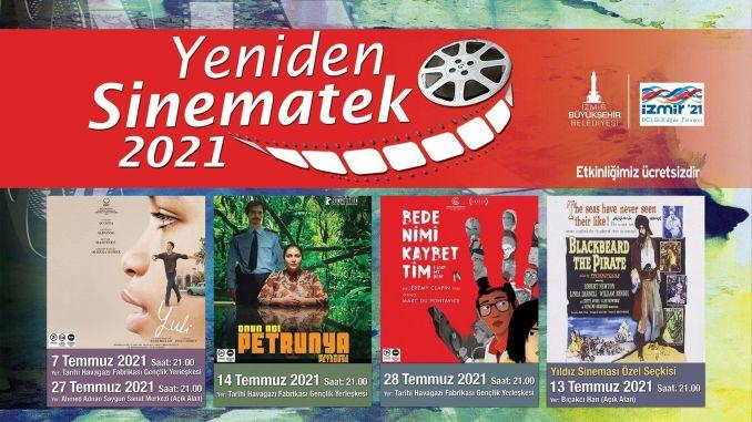 Outdoor cinema enjoyment begins in izmir