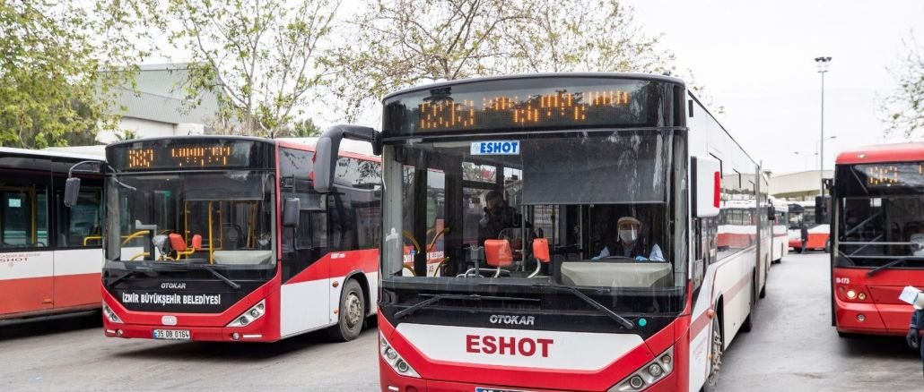 eshot bus times in izmir are now on google maps