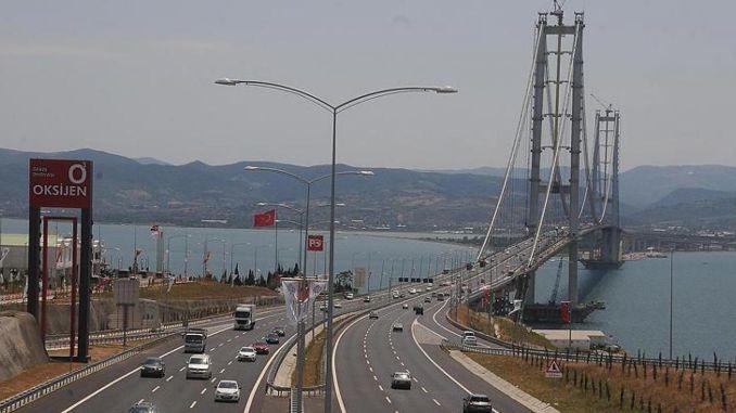 Karaismailoglu kündigte eine seltene Entwicklung auf der Osmangazi-Brücke an