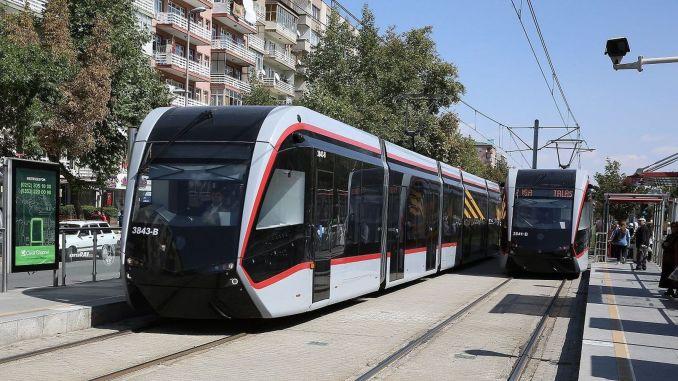 kayseri gets a kilometer tram network