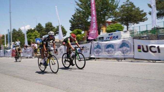 excitement of international erciyes road bike races in kayseri