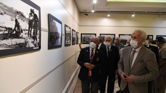 cyprus peace operation special photography exhibition opened in ankara