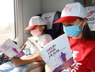 צעירים חובבי ספרים מגלים את אנטוליה ברכבת