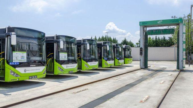The target is zero waste in the Kocaeli bus garage