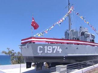 تم افتتاح سفينة الإنزال ج ، التي تحولت إلى متحف في نيقوسيا